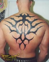 Tribal on back